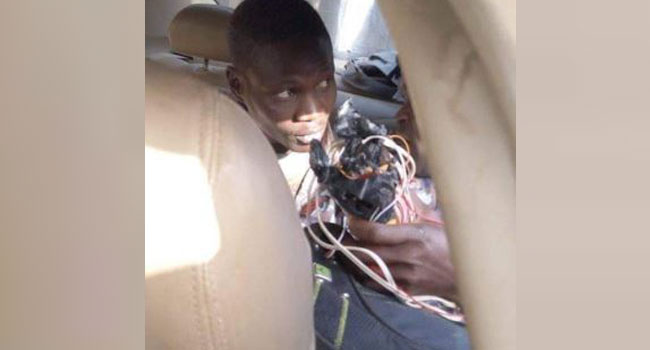 Just In: Police Arrest Suspect With Explosive Device In Kaduna Church