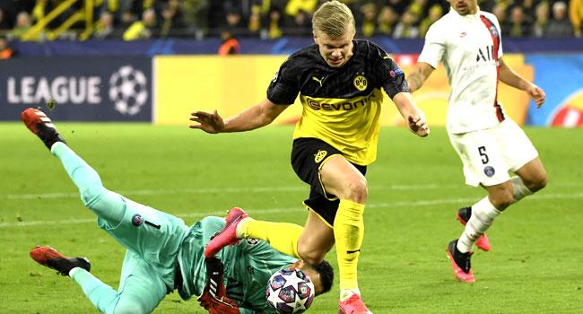 Dortmund Beat PSG In Champions League Clash