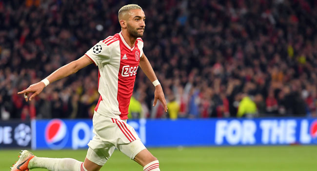 Ajax Attacker Ziyech Set To Move To Chelsea – Report