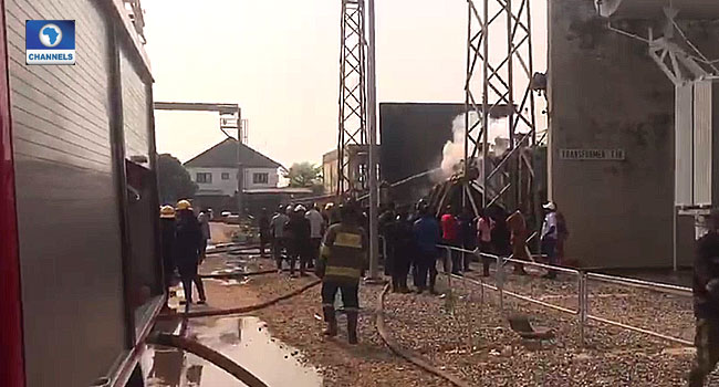 Fire Guts IBEDC Power Station In Ibadan