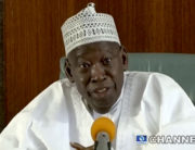 Governor of Kano State, Abdullahi Ganduje, spoke to reporters on Friday, February 7, 2020.