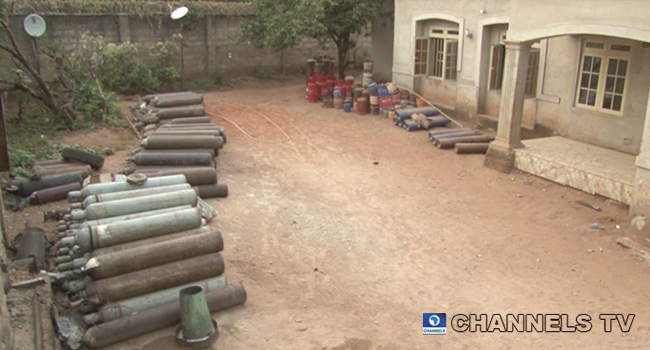NSCDC Arrests 31-Year-Old Woman For Illegal Gas Trade