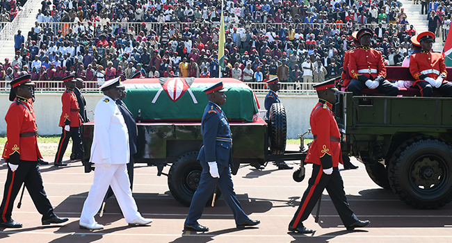 Kenya Mourns Ex-President With State Funeral