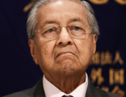 In this file photo taken on May 30, 2019, Malaysia's Prime Minister Mahathir Mohamad attends a press conference in Tokyo. Behrouz MEHRI / AFP