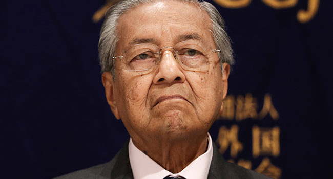 Turmoil In Malaysia As Prime Minister Resigns