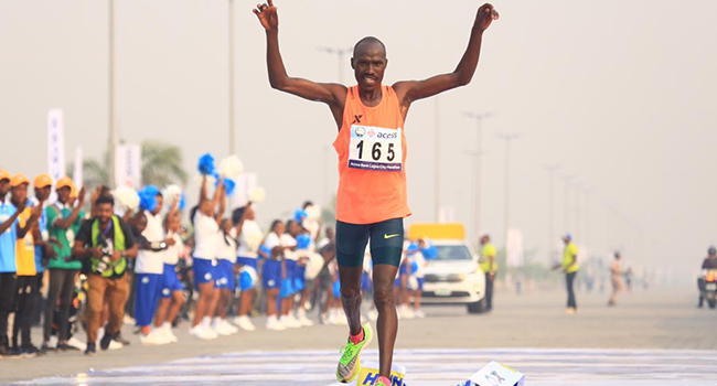 David Barmasai Tumo is a Kenyan long-distance runner.