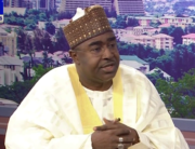 Buba Marwa appeared on Channels TV's Sunrise Daily on February 24, 2020