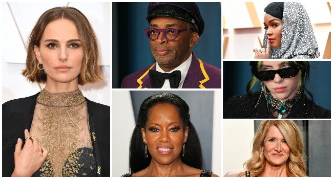 Showbiz stars dazzled at the Oscars on Sunday 9, February, 2020.
