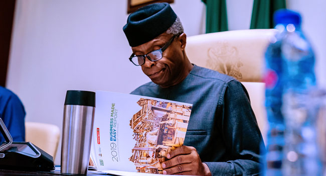 Osinbajo's Helicopter Accident Caused By Human Error, AIB Reveals