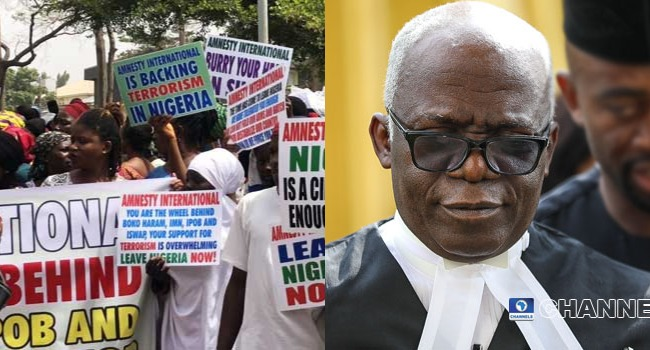 Insecurity: Presidency Has No Power To Stop Peaceful Protests – Falana