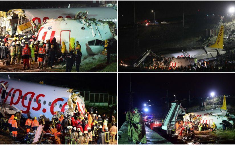 Three Dead, Scores Hurt, In Turkey Plane Accident