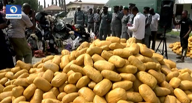Customs Impounds 48 Sacks Of Marijuana In Kwara