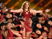Shakira performs onstage during the Pepsi Super Bowl LIV Halftime Show at Hard Rock Stadium on February 02, 2020 in Miami, Florida. Kevin Winter/Getty Images/AFP