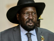 South Sudan's President Salva Kiir Mayardit attends the 33rd Ordinary Session of the African Union Summit, at the AU headquarters in Addis Ababa, on February 10, 2020. MICHAEL TEWELDE / AFP