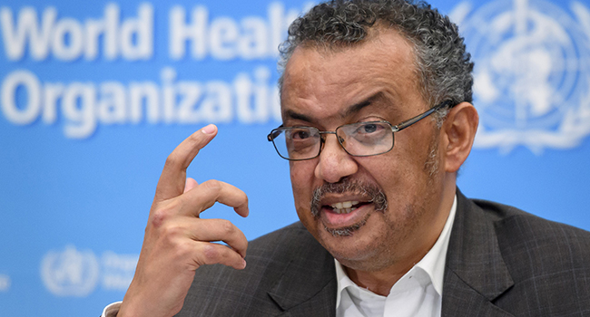 World Health Organization  chief slams wealthy countries for failing to share virus data