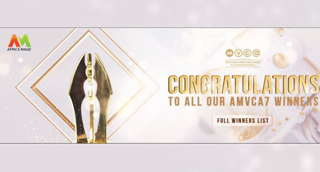 Full List Of Winners At The 7th AMVCA