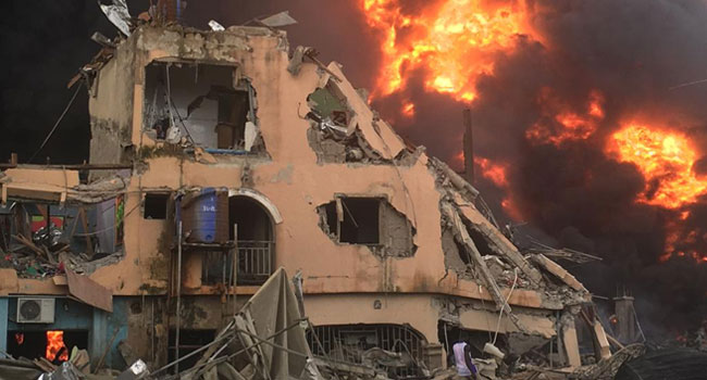 Abule-Ado Blast Triggered By Gas Explosion, Says NNPC