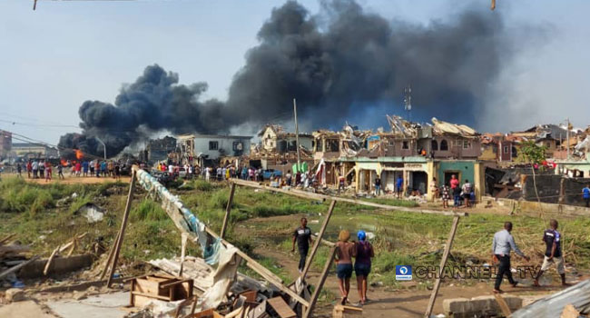 At Least 17 Bodies Recovered, 25 Injured In Abule-Ado Pipeline Explosion