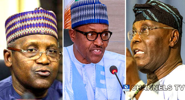 COVID-19: Buhari Praises Atiku, Dangote, Others For Donations