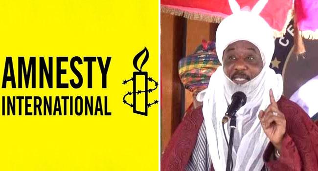 Amnesty International Condemns Sanusi's Dethronement, Banishment