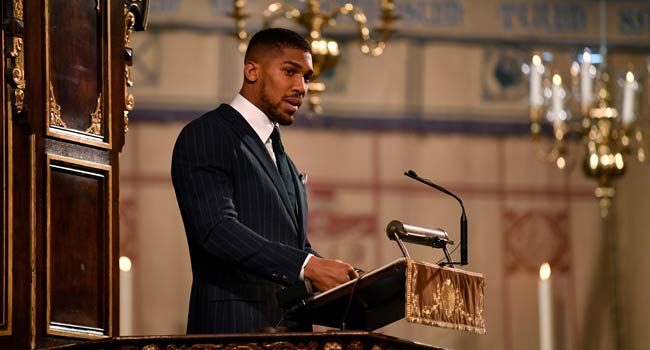 COVID-19: I Have Lost 'Close Friends,' Says Anthony Joshua