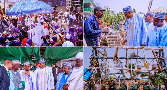 PHOTOS: Buhari Attends Grand Finale Of Argungu Festival