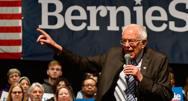 Sanders Cancels Campaign Rally Over Coronavirus Fears