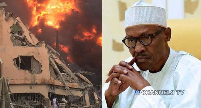 Buhari Condoles With Victims Of Abule–Ado Explosion