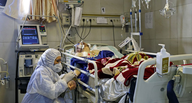 Iran Hit By Record 337 Virus Deaths In Single Day