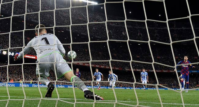 Champions League: Barca To Play Napoli Behind Closed Doors