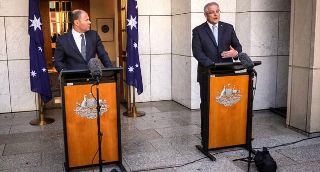 Australia Announces Nearly $40bn In Virus Relief