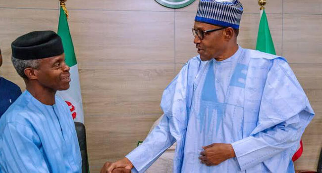 Buhari, Osinbajo Have Been Earning Half Salaries – Adesina