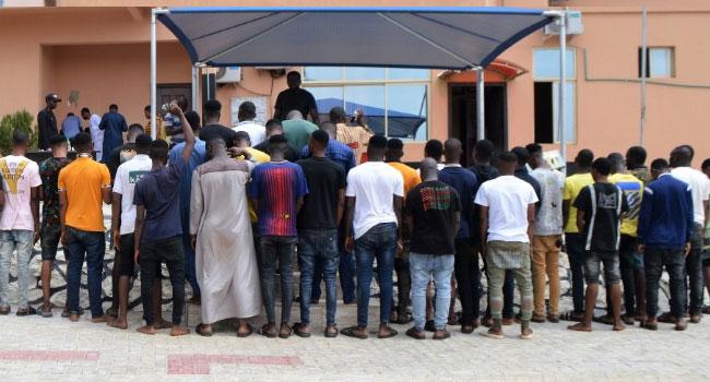 EFCC Arrests 42 Suspected Internet Fraudsters In Ogun