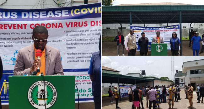 Edo Speaker Tests Positive For Coronavirus