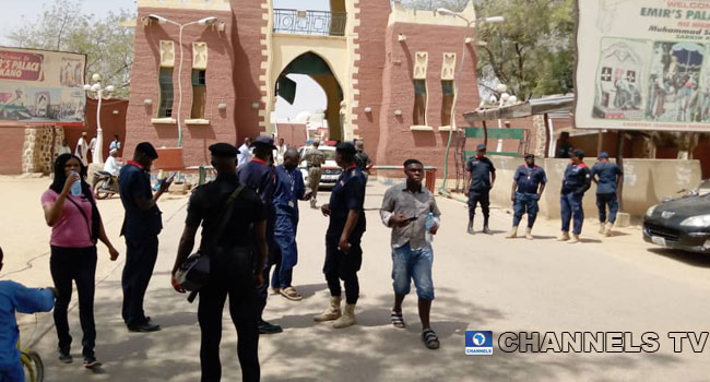 Security Operatives Storm Kano Emir's Palace After Sanusi's Removal