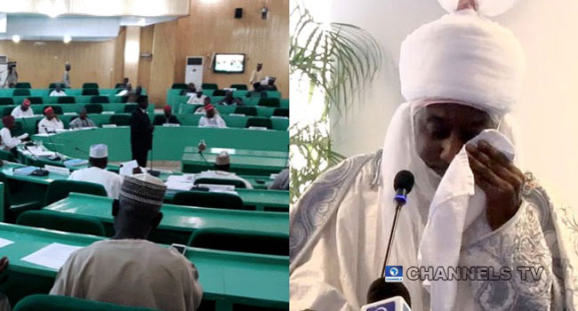Kano Assembly Receives Petition To Investigate Emir Sanusi