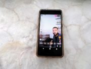 This image has been altered: Instagram handles of commenters have been blurred.) In this photo illustration, John Legend is seen on a smart phone performing on Instagram Live during the coronavirus outbreak on March 16, 2020 in Los Angeles, California.