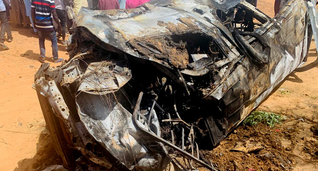 PHOTOS: 24 Killed In Jigawa Road Crash