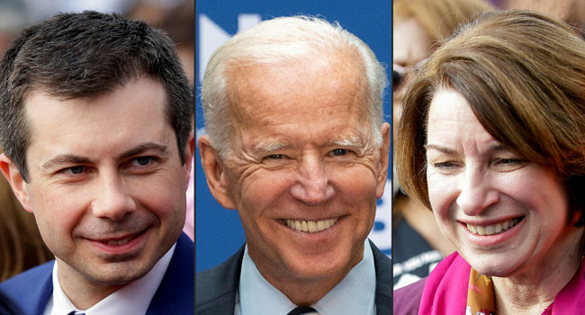Buttigieg, Klobuchar, O'Rourke And Reid Endorse Biden