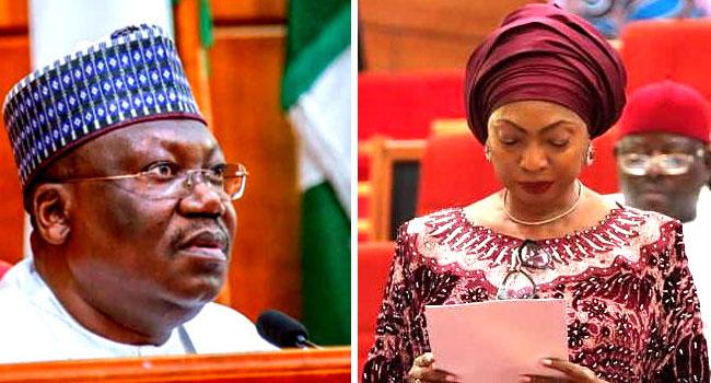 Lawan Mourns Senator Rose Oko