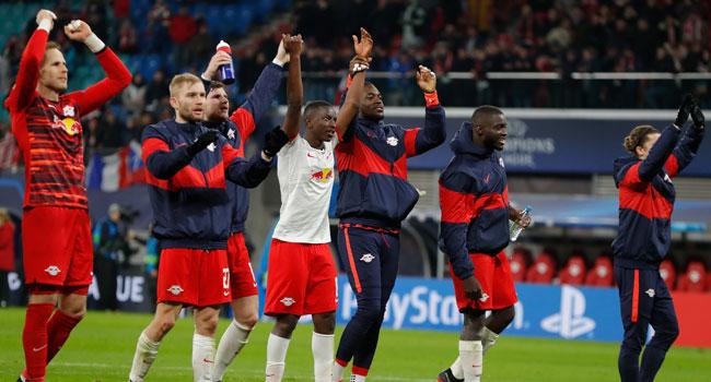 Leipzig Cruise Past Tottenham Into Champions League Quarter-Final