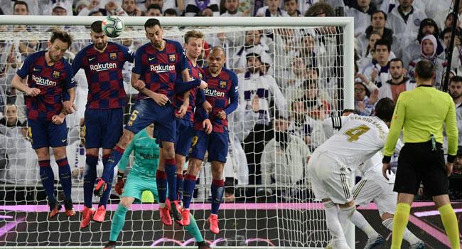 Madrid Beat Barcelona In Clasico To Regain Top Spot