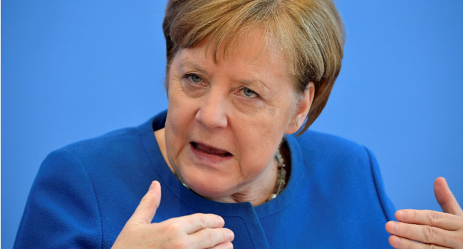 Angela Merkel warns that 70% of Germans could get coronavirus