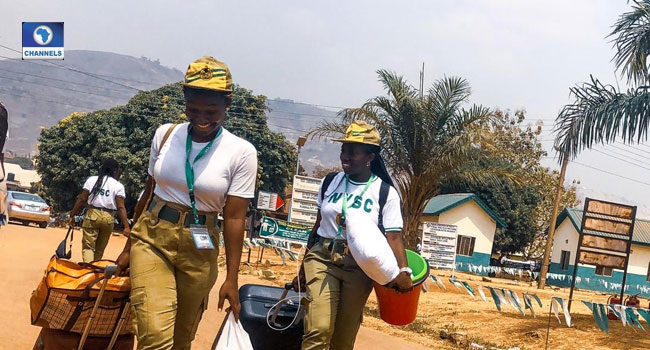 PHOTOS: Corps Members Depart NYSC Orientation Camp