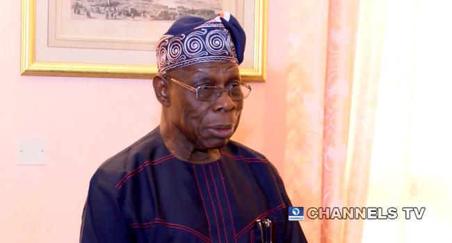 File foto mantan Presiden Olusegun Obasanjo