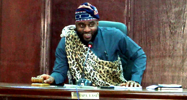 Oyo Assembly Speaker