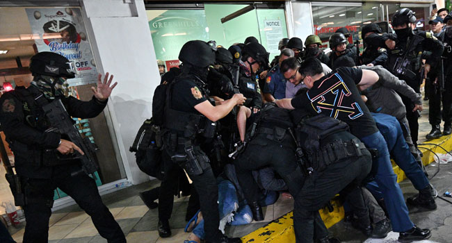One Shot, 30 Taken Hostage In Philippine Mall Attack