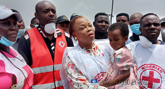 Young Girl Rescued From Lagos Explosion Site