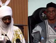 BREAKING: Kaduna State Governor El-Rufai Visits Deposed Emir Sanusi