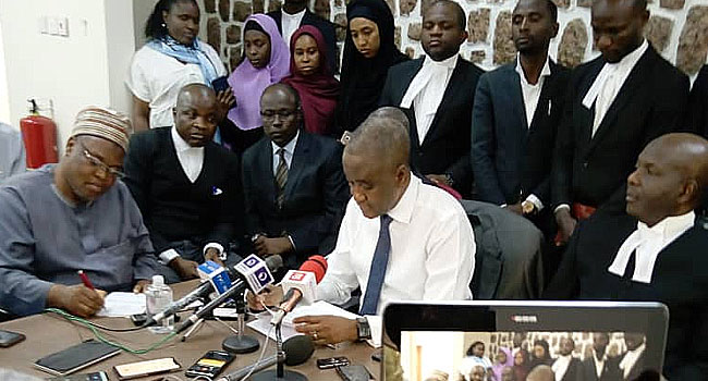 Sanusi's Lawyers Threaten Legal Action, Give Authorities 24 Hours To Release Him